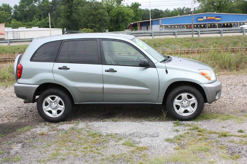 2004 TOYOTA RAV4 BASE FWD 4DR SUV gray air conditioning power windows power locks power steeri