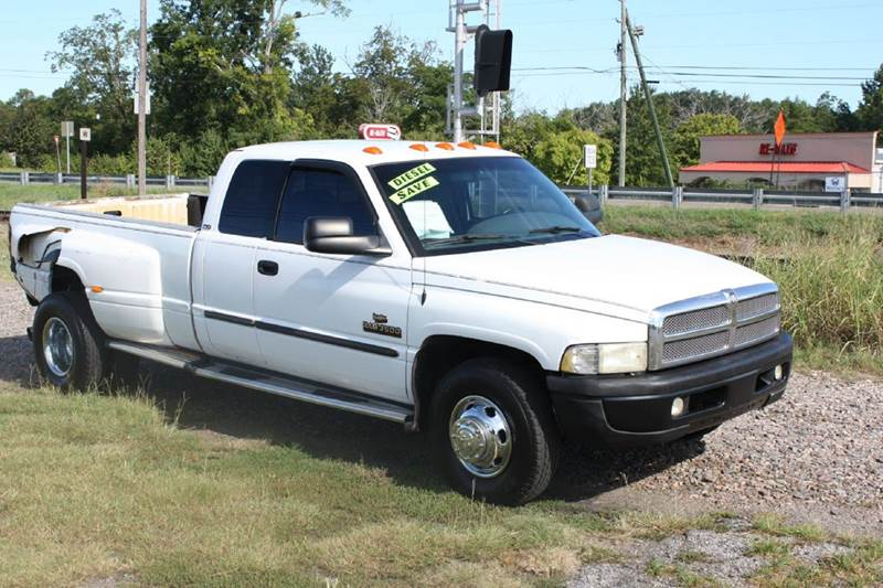 2001 DODGE RAM PICKUP 3500 white air conditioning power windows power locks power steering ti