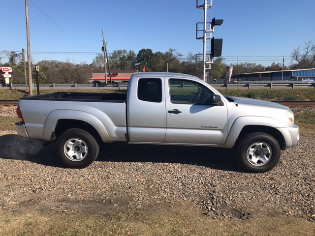 2006 TOYOTA TACOMA V6 4DR ACCESS CAB 4WD SB 4L 5A silver air conditioning power windows power