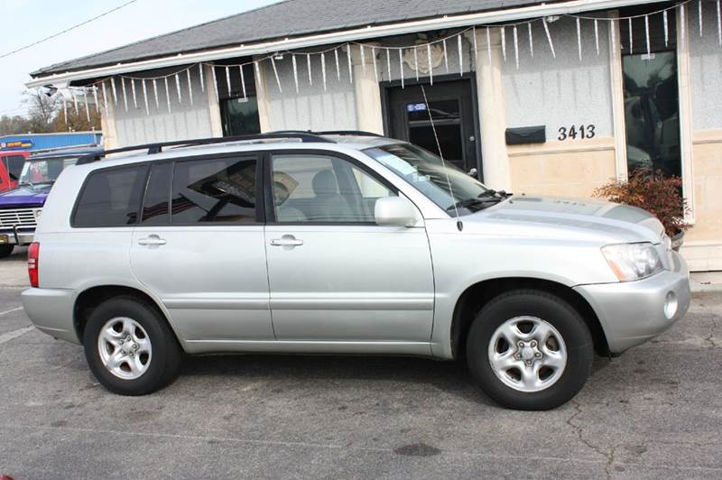 2003 TOYOTA HIGHLANDER BASE FWD 4DR SUV silver air conditioning power windows power locks powe