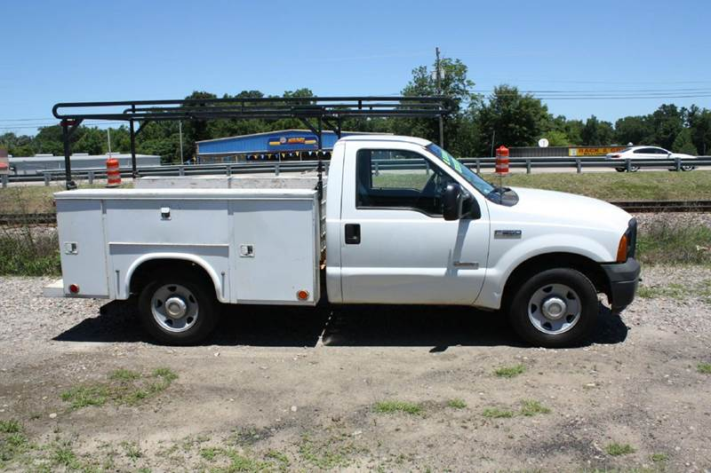 2006 FORD F-250 SUPER DUTY white air conditioning power windows power locks power steering ti
