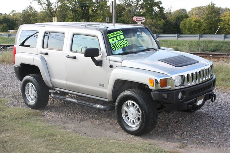 2006 HUMMER H3 BASE 4DR SUV 4WD tan air conditioning power windows power locks power steering