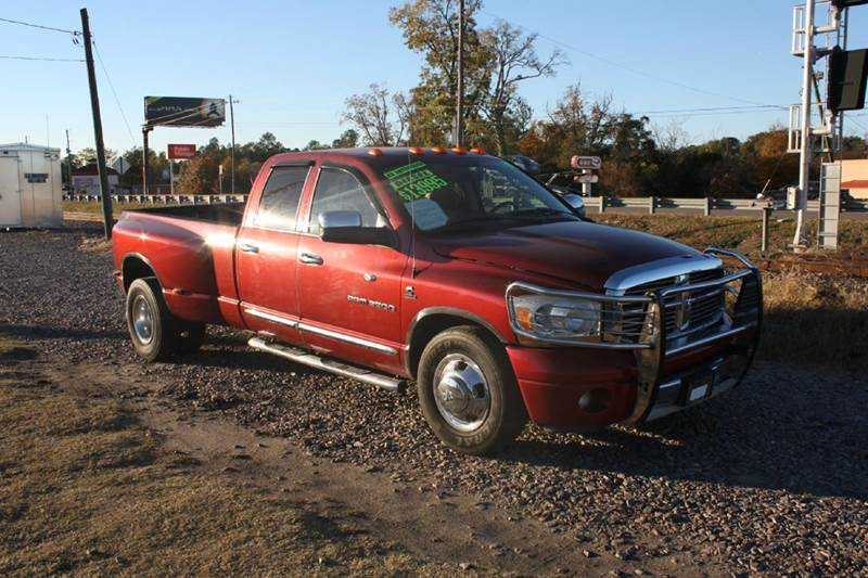2006 DODGE RAM PICKUP 3500 ST 4DR QUAD CAB LB red air conditioning power windows power locks p