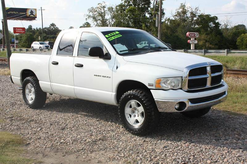 2004 DODGE RAM PICKUP 1500 ST white air conditioning power windows power locks power steering