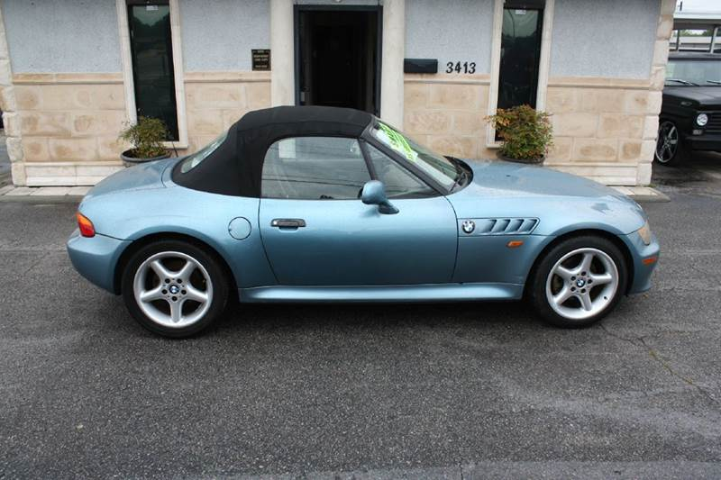 1997 BMW Z3 28 2DR CONVERTIBLE blue air conditioning power windows power locks power steering