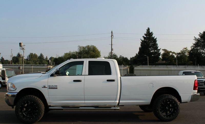 2014 RAM Ram Pickup 3500 Tradesman 4x4 4dr Crew Cab 8 ft. LB Pickup - Portland OR