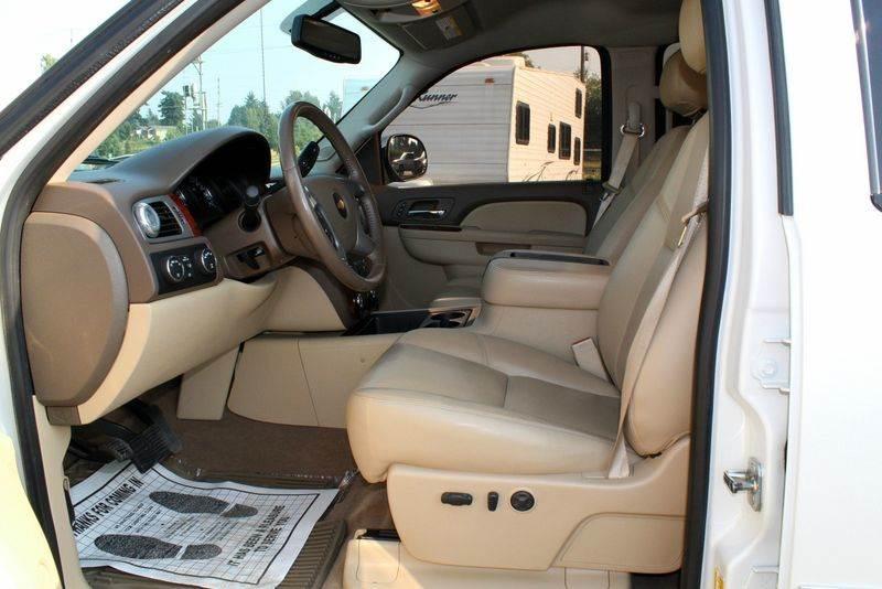 2012 Chevrolet Silverado 1500 LTZ 4x4 4dr Crew Cab 5.8 ft. SB - Portland OR