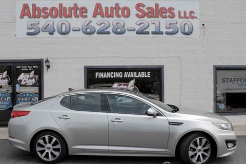2013 Kia Optima for sale in Fredericksburg, VA