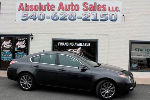 2013 Acura TL for sale in Fredericksburg, VA