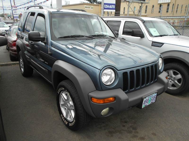 2002 jeep liberty 4x4 sport in portland or family auto. Black Bedroom Furniture Sets. Home Design Ideas
