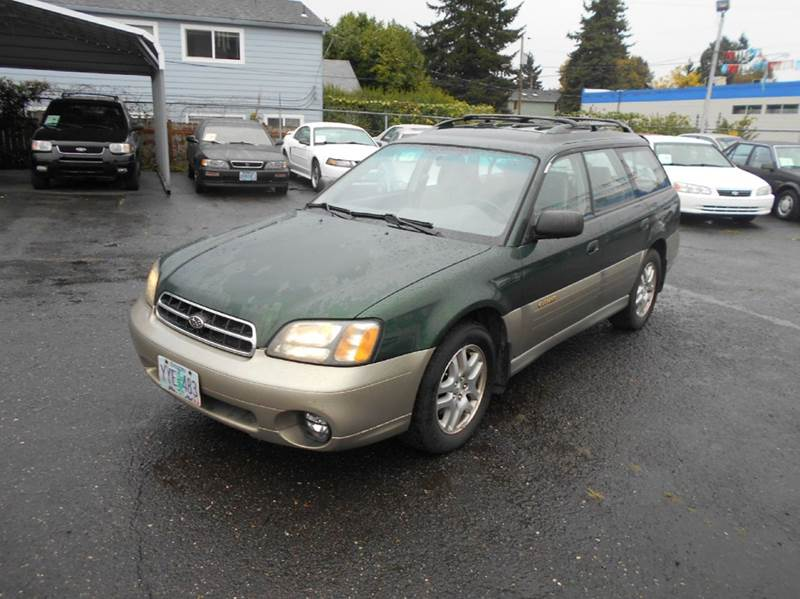 2002 subaru outback awd 4dr wagon in portland or family. Black Bedroom Furniture Sets. Home Design Ideas