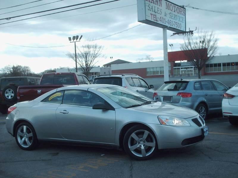 2007 Pontiac G6 for sale in Warwick, RI