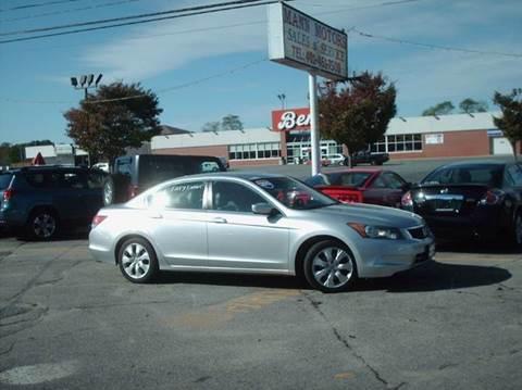 2010 Honda Accord for sale in Warwick, RI
