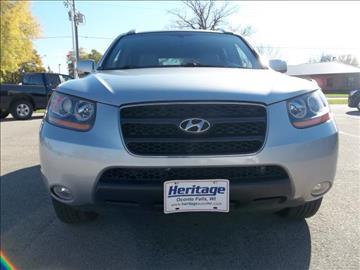2008 Hyundai Santa Fe for sale in Oconto Falls, WI