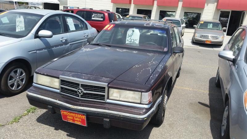 1991 dodge dynasty 4dr sedan in twin falls id progressive auto sales. Black Bedroom Furniture Sets. Home Design Ideas