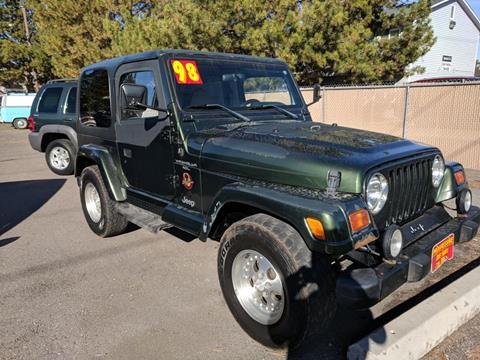 1998 jeep wrangler for sale. Black Bedroom Furniture Sets. Home Design Ideas