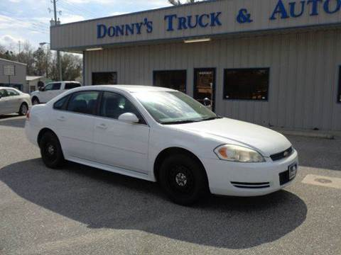 2011 Chevrolet Impala for sale in Turbeville, SC
