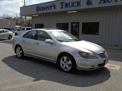 2005 Acura RL for sale in Turbeville, SC