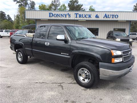Used Cars Turbeville Used Pickup Trucks Cades Gable DONNY'S TRUCK &