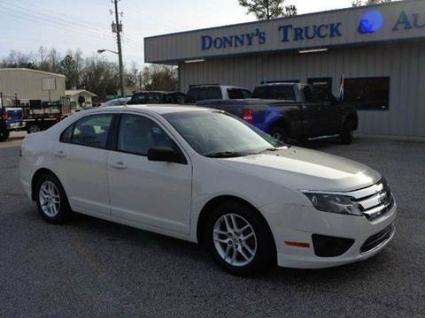 2010 Ford Fusion for sale in Turbeville, SC