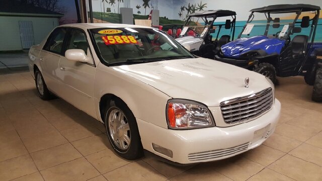 2003 CADILLAC DEVILLE BASE 4DR SEDAN unspecified abs - 4-wheel air suspension - rear anti-theft