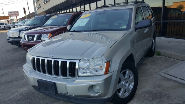 2007 JEEP GRAND CHEROKEE LIMITED 4DR SUV unspecified 2-stage unlocking - remote abs - 4-wheel a