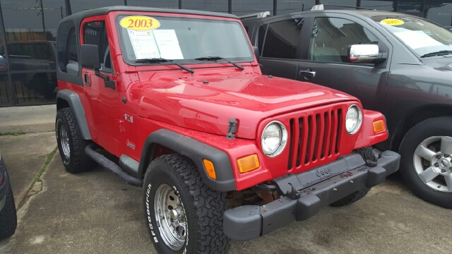 2003 JEEP WRANGLER X 4WD 2DR SUV unspecified axle ratio - 307 cassette center console front a