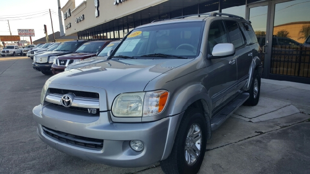 2005 TOYOTA SEQUOIA LIMITED 4DR SUV unspecified abs - 4-wheel anti-theft alarm system anti-thef