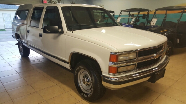 1999 CHEVROLET CK 2500 SERIES C2500 4DR CREW CAB SB HD unspecified abs - 4-wheel bumper detail