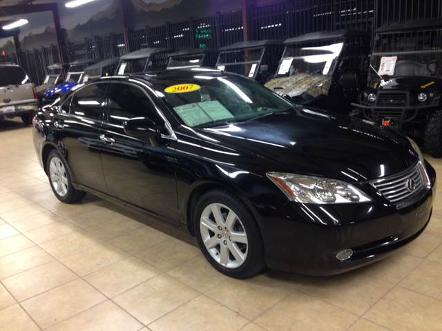 2007 LEXUS ES 350 BASE 4DR SEDAN black 2-stage unlocking - remote abs - 4-wheel air filtration