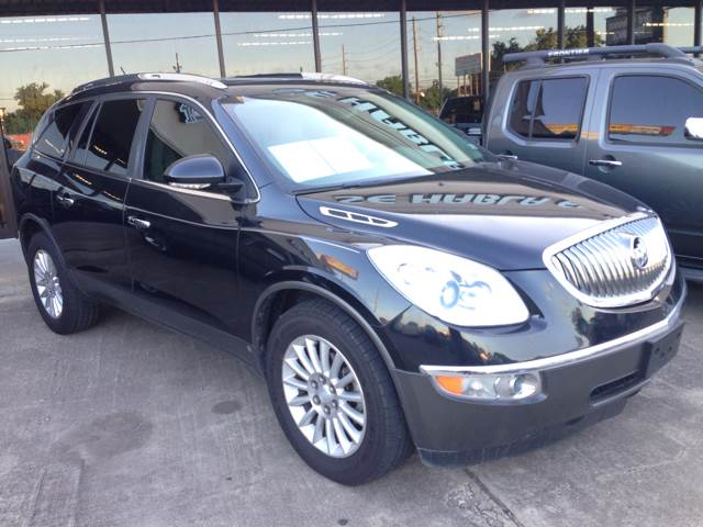 2009 BUICK ENCLAVE CXL 4DR SUV black 2-stage unlocking - remote abs - 4-wheel auxiliary audio i