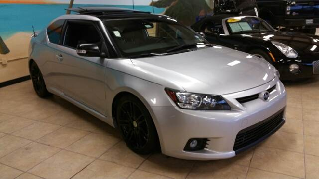2012 SCION TC BASE 2DR COUPE 6M silver 2-stage unlocking - remote abs - 4-wheel active head res