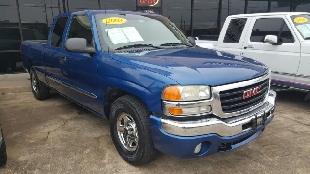2003 GMC SIERRA 1500 BASE 4DR EXTENDED CAB RWD LB unspecified abs - 4-wheel axle ratio - 342 c