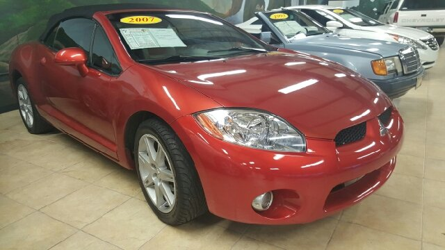 2007 MITSUBISHI ECLIPSE SPYDER GT 2DR CONVERTIBLE 38L V6 5A unspecified 2-stage unlocking door