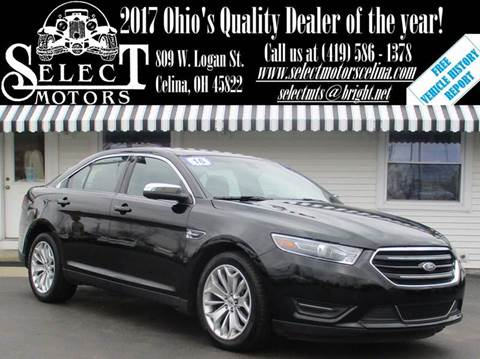 2016 Ford Taurus for sale in Celina, OH