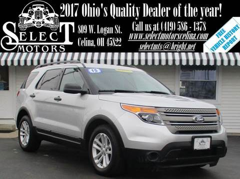 2015 Ford Explorer for sale in Celina, OH