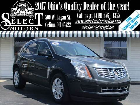 2015 Cadillac SRX for sale in Celina, OH