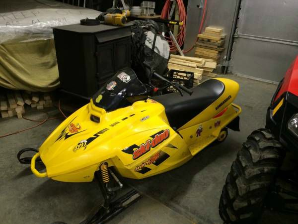 2003 Ski-Doo Mini Z 120 Rev Youth