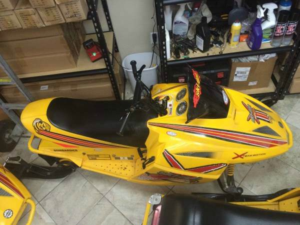 2004 Ski-Doo MXZ Mini z 120 Rev youth