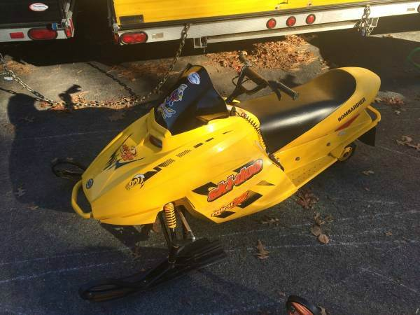 2003 Ski-Doo MXZ 120 mini youth kids rev
