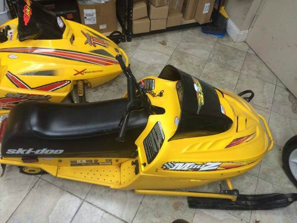 1999 Ski-Doo Mini Z 120 Youth kids