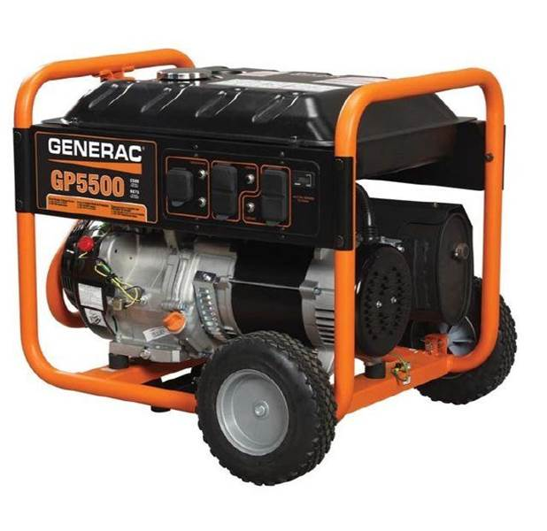 2013 Generac Generator GP Series 5500/6875 Watt Portable