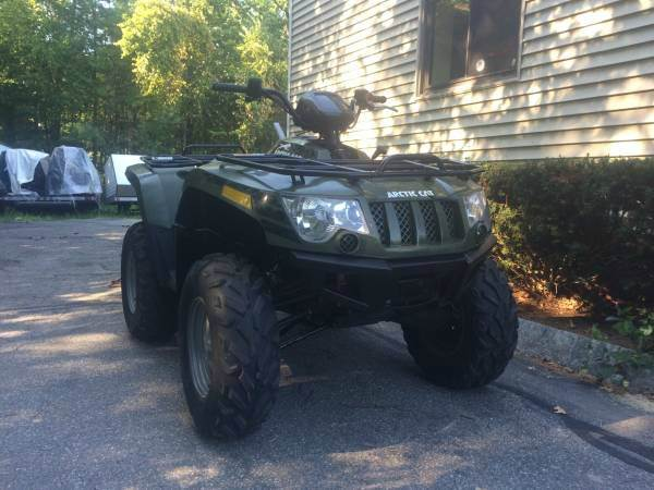 2012 Arctic Cat 450i H1 4x4 ATV