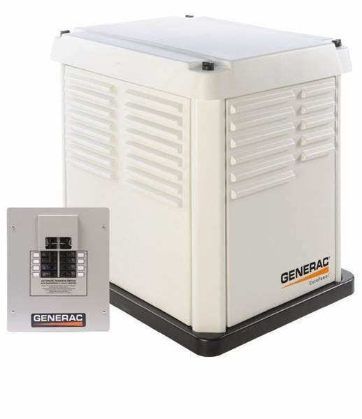 2013 Generac CorePower 7kW Air-Cooled Gas Standby - Westford MA