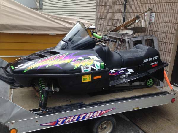 1997 Arctic Cat ZL440 ZL 440