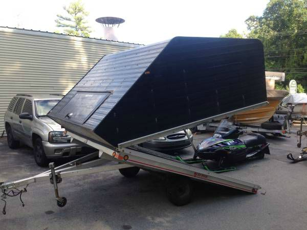 2007 Avalanch 10x101 enclosed clam shell