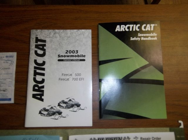 2003 Arctic Cat Fire Cat F5 Will Trade - Westford MA