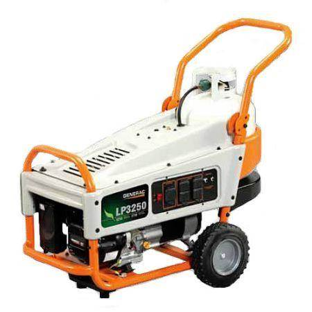 2013 Generac Generator LP3250 LP Series 3250 Watt
