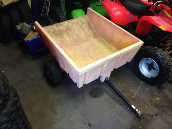 2015 Dump Cart Plastic