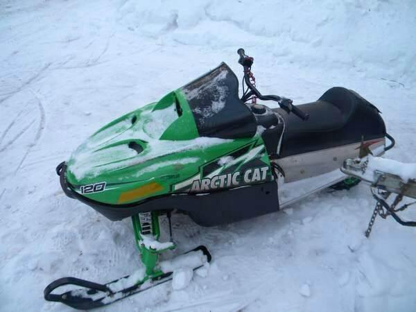 2010 Arctic Cat Sno-Pro 120 ZR120 Z120 120